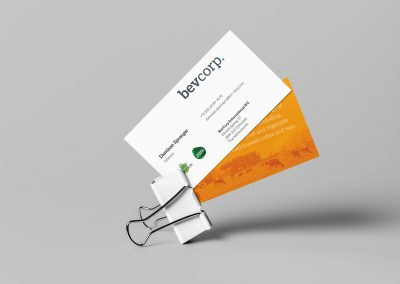 Bevcorp – Corporate Identity design